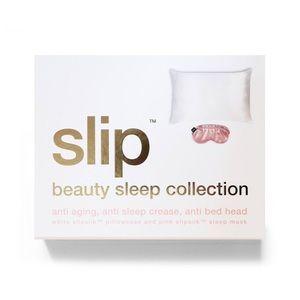 NEW IN BOX Slip Silk Eye Mask & Pillowcase Set